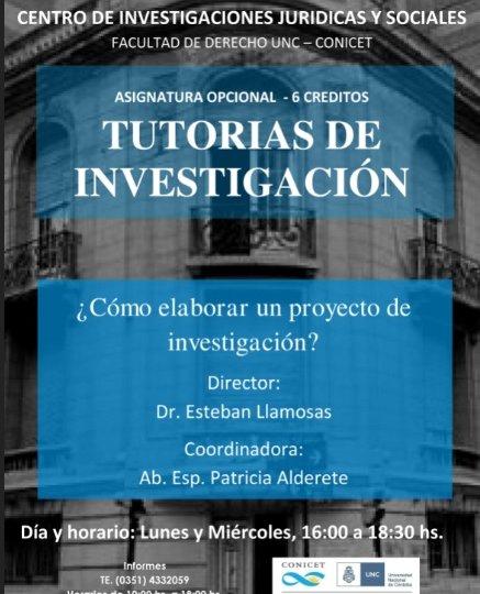 TUTORÍA DE INVESTIGACIÓN