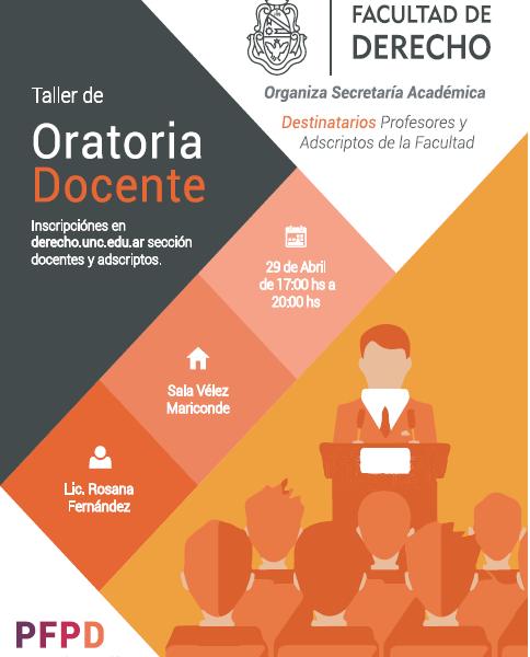 TALLER DE ORATORIA DOCENTE