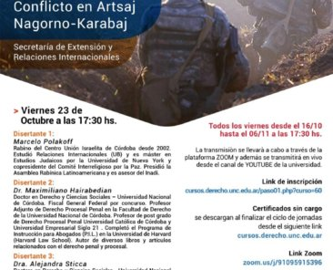 Jornadas de reflexion sobre el conflicto en Artsaj